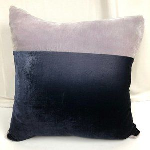Kevin O'Brien Silk Velvet Pillow 20 x20 in Purple